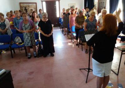 Naistenkokous Manoksella