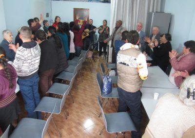 Romanikokous Tiranan toisella laidalla.