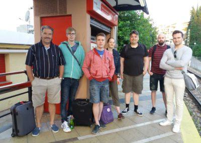 Aktioryhmä lähdössä Melillaan